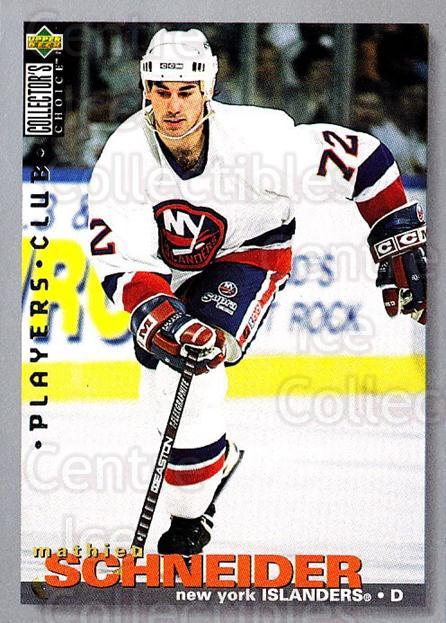 1995-96 Collectors Choice Players Club #322 Mathieu Schneider<br/>5 In Stock - $2.00 each - <a href=https://centericecollectibles.foxycart.com/cart?name=1995-96%20Collectors%20Choice%20Players%20Club%20%23322%20Mathieu%20Schneid...&quantity_max=5&price=$2.00&code=153528 class=foxycart> Buy it now! </a>