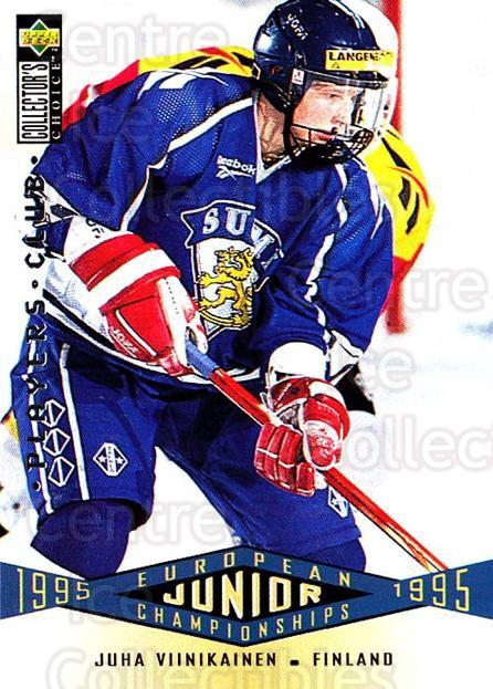 1995-96 Collectors Choice Players Club #329 Juha Viinikainen<br/>4 In Stock - $2.00 each - <a href=https://centericecollectibles.foxycart.com/cart?name=1995-96%20Collectors%20Choice%20Players%20Club%20%23329%20Juha%20Viinikaine...&quantity_max=4&price=$2.00&code=153534 class=foxycart> Buy it now! </a>