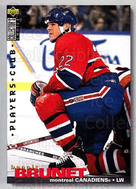 1995-96 Collectors Choice Players Club #35 Benoit Brunet<br/>5 In Stock - $2.00 each - <a href=https://centericecollectibles.foxycart.com/cart?name=1995-96%20Collectors%20Choice%20Players%20Club%20%2335%20Benoit%20Brunet...&quantity_max=5&price=$2.00&code=153555 class=foxycart> Buy it now! </a>