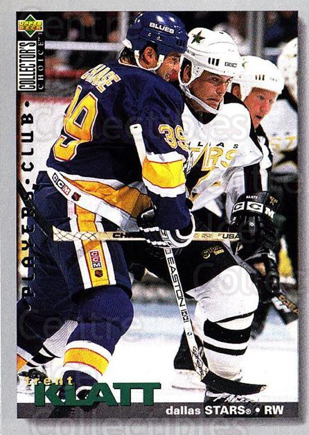 1995-96 Collectors Choice Players Club #36 Trent Klatt<br/>5 In Stock - $2.00 each - <a href=https://centericecollectibles.foxycart.com/cart?name=1995-96%20Collectors%20Choice%20Players%20Club%20%2336%20Trent%20Klatt...&quantity_max=5&price=$2.00&code=153564 class=foxycart> Buy it now! </a>