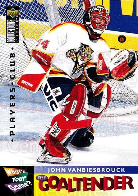 1995-96 Collectors Choice Players Club #368 John Vanbiesbrouck<br/>1 In Stock - $2.00 each - <a href=https://centericecollectibles.foxycart.com/cart?name=1995-96%20Collectors%20Choice%20Players%20Club%20%23368%20John%20Vanbiesbro...&quantity_max=1&price=$2.00&code=153568 class=foxycart> Buy it now! </a>