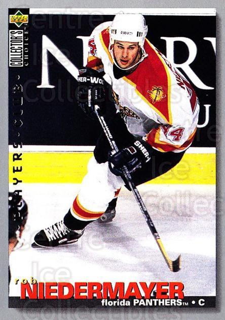 1995-96 Collectors Choice Players Club #40 Rob Niedermayer<br/>4 In Stock - $2.00 each - <a href=https://centericecollectibles.foxycart.com/cart?name=1995-96%20Collectors%20Choice%20Players%20Club%20%2340%20Rob%20Niedermayer...&quantity_max=4&price=$2.00&code=153583 class=foxycart> Buy it now! </a>