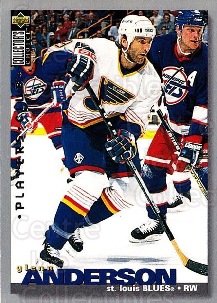 1995-96 Collectors Choice Players Club #46 Glenn Anderson<br/>5 In Stock - $2.00 each - <a href=https://centericecollectibles.foxycart.com/cart?name=1995-96%20Collectors%20Choice%20Players%20Club%20%2346%20Glenn%20Anderson...&quantity_max=5&price=$2.00&code=153588 class=foxycart> Buy it now! </a>