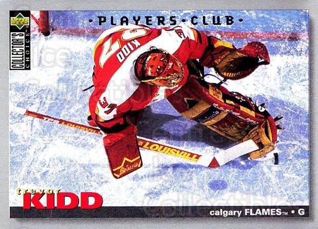 1995-96 Collectors Choice Players Club #69 Trevor Kidd<br/>3 In Stock - $2.00 each - <a href=https://centericecollectibles.foxycart.com/cart?name=1995-96%20Collectors%20Choice%20Players%20Club%20%2369%20Trevor%20Kidd...&quantity_max=3&price=$2.00&code=153613 class=foxycart> Buy it now! </a>