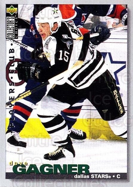 1995-96 Collectors Choice Players Club #7 Dave Gagner<br/>5 In Stock - $2.00 each - <a href=https://centericecollectibles.foxycart.com/cart?name=1995-96%20Collectors%20Choice%20Players%20Club%20%237%20Dave%20Gagner...&quantity_max=5&price=$2.00&code=153614 class=foxycart> Buy it now! </a>
