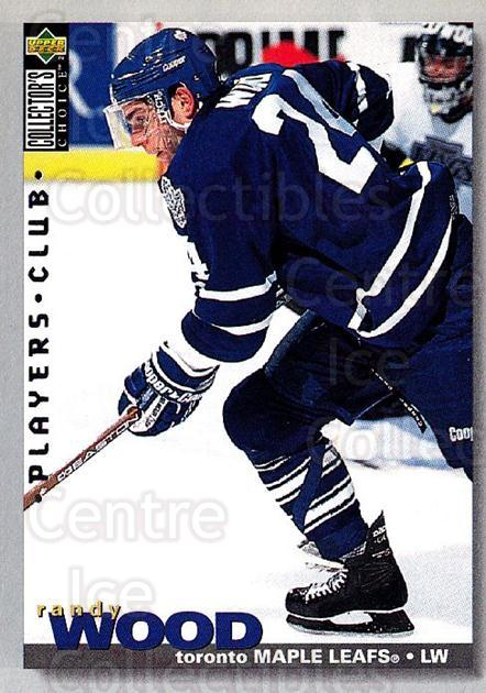 1995-96 Collectors Choice Players Club #74 Randy Wood<br/>3 In Stock - $2.00 each - <a href=https://centericecollectibles.foxycart.com/cart?name=1995-96%20Collectors%20Choice%20Players%20Club%20%2374%20Randy%20Wood...&quantity_max=3&price=$2.00&code=153619 class=foxycart> Buy it now! </a>