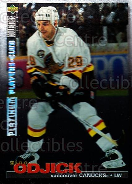 1995-96 Collectors Choice Players Club Platinum #290 Gino OdJick<br/>1 In Stock - $3.00 each - <a href=https://centericecollectibles.foxycart.com/cart?name=1995-96%20Collectors%20Choice%20Players%20Club%20Platinum%20%23290%20Gino%20OdJick...&quantity_max=1&price=$3.00&code=153667 class=foxycart> Buy it now! </a>