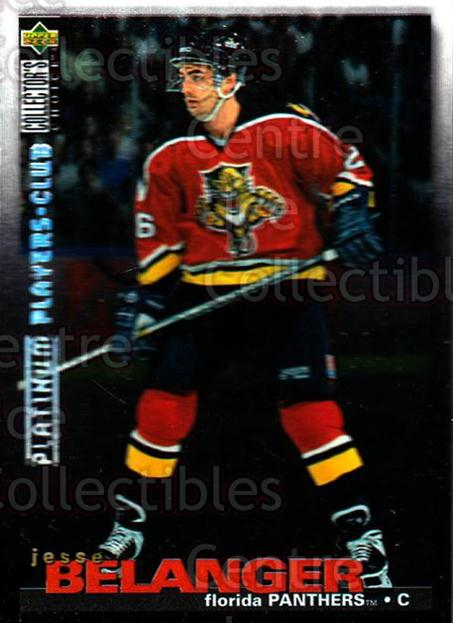 1995-96 Collectors Choice Players Club Platinum #66 Jesse Belanger<br/>2 In Stock - $3.00 each - <a href=https://centericecollectibles.foxycart.com/cart?name=1995-96%20Collectors%20Choice%20Players%20Club%20Platinum%20%2366%20Jesse%20Belanger...&quantity_max=2&price=$3.00&code=153776 class=foxycart> Buy it now! </a>