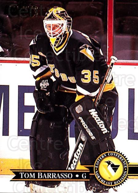 1995-96 Donruss #291 Tom Barrasso<br/>2 In Stock - $1.00 each - <a href=https://centericecollectibles.foxycart.com/cart?name=1995-96%20Donruss%20%23291%20Tom%20Barrasso...&quantity_max=2&price=$1.00&code=153844 class=foxycart> Buy it now! </a>