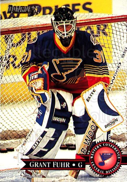1995-96 Donruss #310 Grant Fuhr<br/>3 In Stock - $1.00 each - <a href=https://centericecollectibles.foxycart.com/cart?name=1995-96%20Donruss%20%23310%20Grant%20Fuhr...&quantity_max=3&price=$1.00&code=153862 class=foxycart> Buy it now! </a>