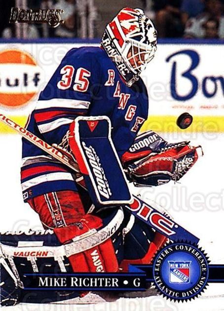 1995-96 Donruss #59 Mike Richter<br/>2 In Stock - $1.00 each - <a href=https://centericecollectibles.foxycart.com/cart?name=1995-96%20Donruss%20%2359%20Mike%20Richter...&quantity_max=2&price=$1.00&code=153956 class=foxycart> Buy it now! </a>
