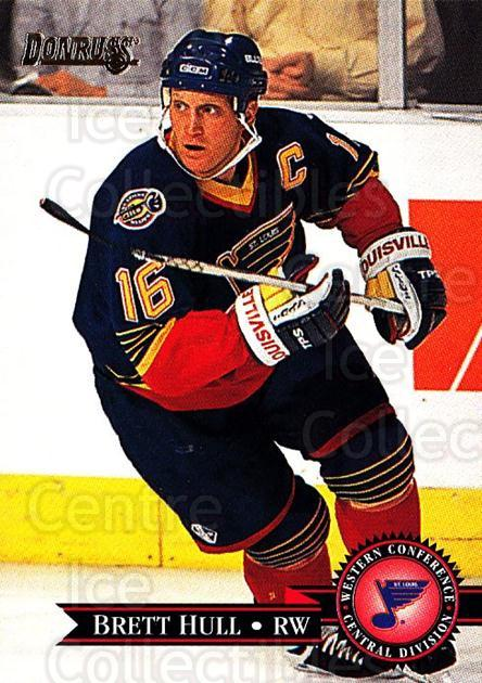 1995-96 Donruss #68 Brett Hull<br/>4 In Stock - $2.00 each - <a href=https://centericecollectibles.foxycart.com/cart?name=1995-96%20Donruss%20%2368%20Brett%20Hull...&quantity_max=4&price=$2.00&code=153964 class=foxycart> Buy it now! </a>