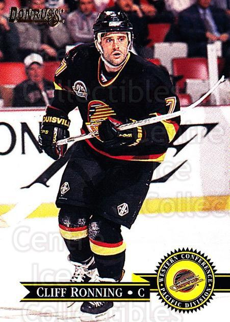 1995-96 Donruss #79 Cliff Ronning<br/>4 In Stock - $1.00 each - <a href=https://centericecollectibles.foxycart.com/cart?name=1995-96%20Donruss%20%2379%20Cliff%20Ronning...&quantity_max=4&price=$1.00&code=153976 class=foxycart> Buy it now! </a>