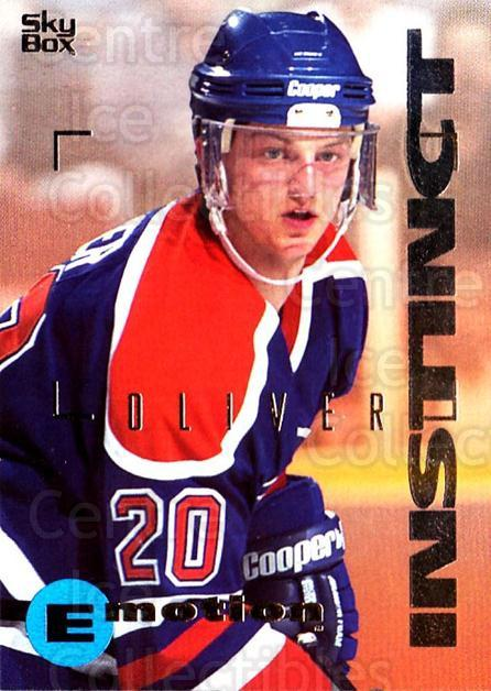 1995-96 Emotion #65 David Oliver<br/>6 In Stock - $1.00 each - <a href=https://centericecollectibles.foxycart.com/cart?name=1995-96%20Emotion%20%2365%20David%20Oliver...&quantity_max=6&price=$1.00&code=154003 class=foxycart> Buy it now! </a>