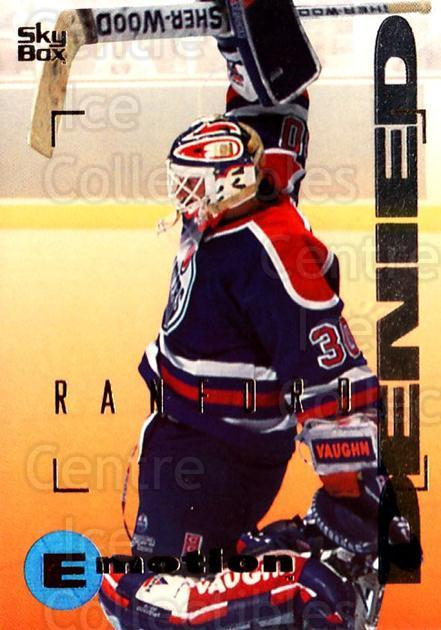 1995-96 Emotion #66 Bill Ranford<br/>5 In Stock - $1.00 each - <a href=https://centericecollectibles.foxycart.com/cart?name=1995-96%20Emotion%20%2366%20Bill%20Ranford...&quantity_max=5&price=$1.00&code=154004 class=foxycart> Buy it now! </a>