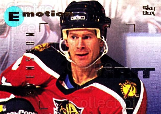 1995-96 Emotion #71 Magnus Svensson<br/>4 In Stock - $1.00 each - <a href=https://centericecollectibles.foxycart.com/cart?name=1995-96%20Emotion%20%2371%20Magnus%20Svensson...&quantity_max=4&price=$1.00&code=154009 class=foxycart> Buy it now! </a>