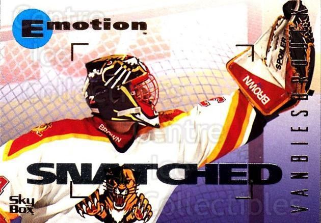 1995-96 Emotion #72 John Vanbiesbrouck<br/>4 In Stock - $1.00 each - <a href=https://centericecollectibles.foxycart.com/cart?name=1995-96%20Emotion%20%2372%20John%20Vanbiesbro...&quantity_max=4&price=$1.00&code=154010 class=foxycart> Buy it now! </a>