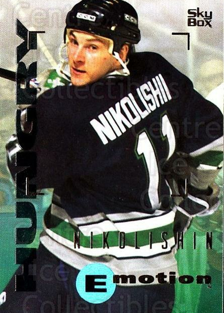 1995-96 Emotion #76 Andrei Nikolishin<br/>6 In Stock - $1.00 each - <a href=https://centericecollectibles.foxycart.com/cart?name=1995-96%20Emotion%20%2376%20Andrei%20Nikolish...&quantity_max=6&price=$1.00&code=154014 class=foxycart> Buy it now! </a>