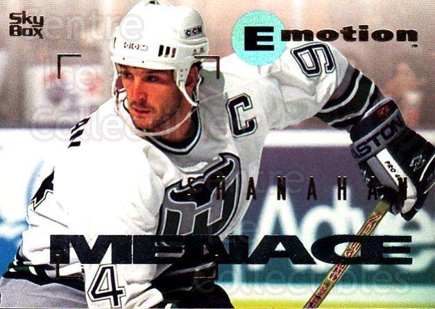 1995-96 Emotion #78 Brendan Shanahan<br/>4 In Stock - $1.00 each - <a href=https://centericecollectibles.foxycart.com/cart?name=1995-96%20Emotion%20%2378%20Brendan%20Shanaha...&quantity_max=4&price=$1.00&code=154016 class=foxycart> Buy it now! </a>