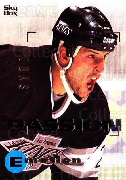 1995-96 Emotion #85 Darryl Sydor<br/>5 In Stock - $1.00 each - <a href=https://centericecollectibles.foxycart.com/cart?name=1995-96%20Emotion%20%2385%20Darryl%20Sydor...&quantity_max=5&price=$1.00&code=154023 class=foxycart> Buy it now! </a>
