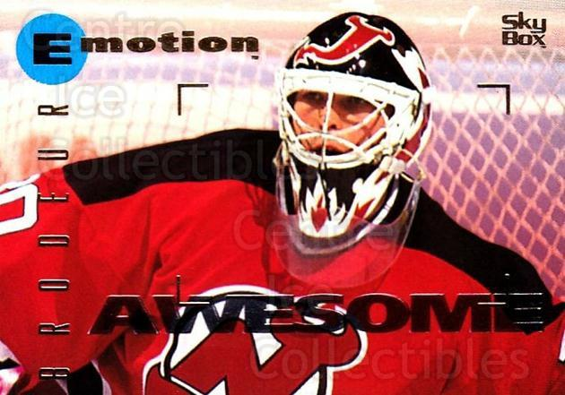 1995-96 Emotion #94 Martin Brodeur<br/>1 In Stock - $2.00 each - <a href=https://centericecollectibles.foxycart.com/cart?name=1995-96%20Emotion%20%2394%20Martin%20Brodeur...&price=$2.00&code=154033 class=foxycart> Buy it now! </a>