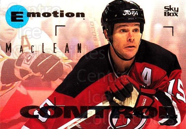 1995-96 Emotion #98 John MacLean<br/>4 In Stock - $1.00 each - <a href=https://centericecollectibles.foxycart.com/cart?name=1995-96%20Emotion%20%2398%20John%20MacLean...&quantity_max=4&price=$1.00&code=154037 class=foxycart> Buy it now! </a>
