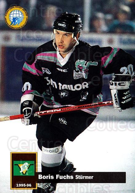1995-96 German DEL #326 Boris Fuchs<br/>11 In Stock - $2.00 each - <a href=https://centericecollectibles.foxycart.com/cart?name=1995-96%20German%20DEL%20%23326%20Boris%20Fuchs...&price=$2.00&code=154352 class=foxycart> Buy it now! </a>