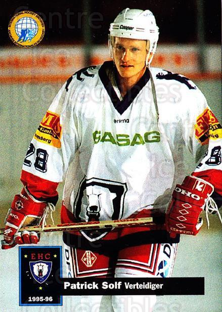 1995-96 German DEL #33 Patrik Solf<br/>13 In Stock - $2.00 each - <a href=https://centericecollectibles.foxycart.com/cart?name=1995-96%20German%20DEL%20%2333%20Patrik%20Solf...&quantity_max=13&price=$2.00&code=154356 class=foxycart> Buy it now! </a>