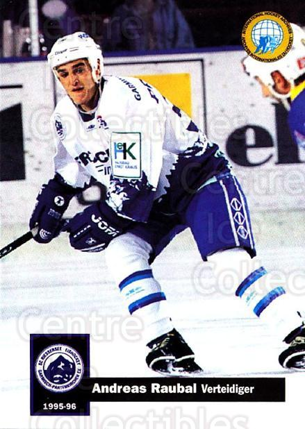 1995-96 German DEL #341 Anton Raubal<br/>15 In Stock - $2.00 each - <a href=https://centericecollectibles.foxycart.com/cart?name=1995-96%20German%20DEL%20%23341%20Anton%20Raubal...&quantity_max=15&price=$2.00&code=154368 class=foxycart> Buy it now! </a>