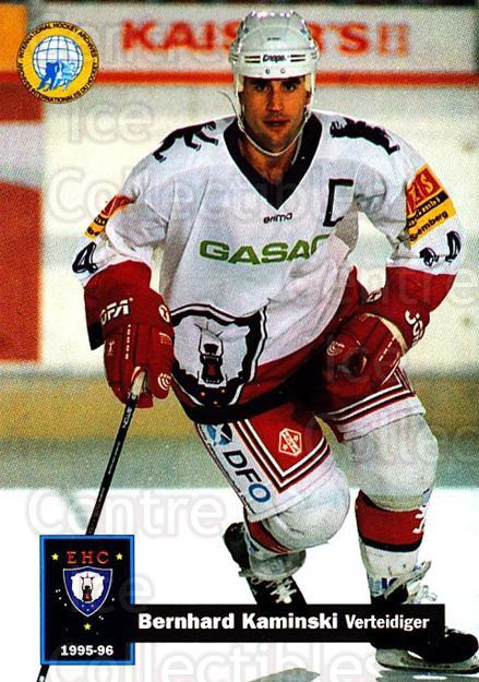 1995-96 German DEL #35 Bernhard Kaminski<br/>14 In Stock - $2.00 each - <a href=https://centericecollectibles.foxycart.com/cart?name=1995-96%20German%20DEL%20%2335%20Bernhard%20Kamins...&quantity_max=14&price=$2.00&code=154377 class=foxycart> Buy it now! </a>