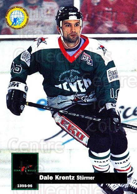 1995-96 German DEL #372 Dale Krentz<br/>9 In Stock - $2.00 each - <a href=https://centericecollectibles.foxycart.com/cart?name=1995-96%20German%20DEL%20%23372%20Dale%20Krentz...&quantity_max=9&price=$2.00&code=154401 class=foxycart> Buy it now! </a>