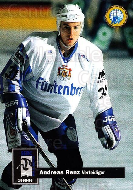 1995-96 German DEL #393 Andreas Renz<br/>14 In Stock - $2.00 each - <a href=https://centericecollectibles.foxycart.com/cart?name=1995-96%20German%20DEL%20%23393%20Andreas%20Renz...&quantity_max=14&price=$2.00&code=154424 class=foxycart> Buy it now! </a>