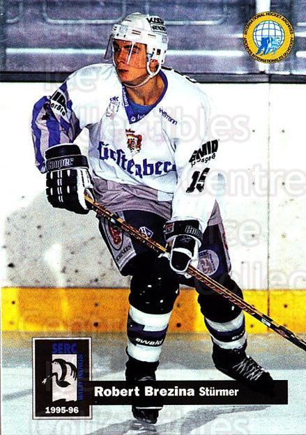 1995-96 German DEL #395 Robert Brezina<br/>16 In Stock - $2.00 each - <a href=https://centericecollectibles.foxycart.com/cart?name=1995-96%20German%20DEL%20%23395%20Robert%20Brezina...&quantity_max=16&price=$2.00&code=154426 class=foxycart> Buy it now! </a>