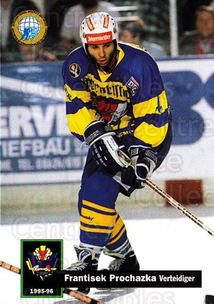 1995-96 German DEL #410 Frantisek Prochazka<br/>5 In Stock - $2.00 each - <a href=https://centericecollectibles.foxycart.com/cart?name=1995-96%20German%20DEL%20%23410%20Frantisek%20Proch...&quantity_max=5&price=$2.00&code=154444 class=foxycart> Buy it now! </a>