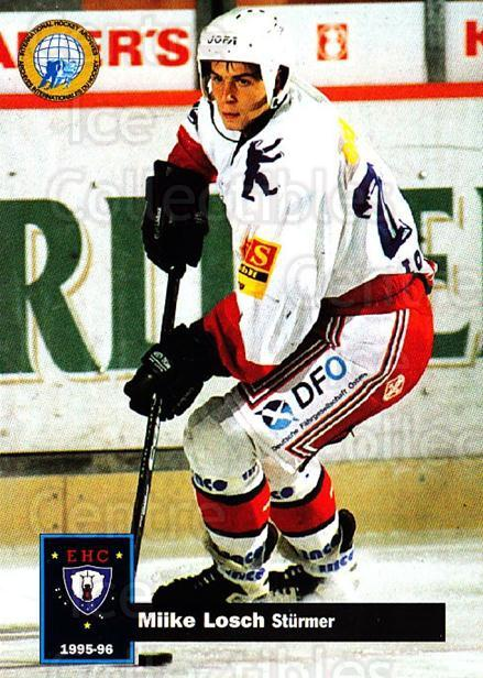 1995-96 German DEL #43 Mike Losch<br/>14 In Stock - $2.00 each - <a href=https://centericecollectibles.foxycart.com/cart?name=1995-96%20German%20DEL%20%2343%20Mike%20Losch...&quantity_max=14&price=$2.00&code=154465 class=foxycart> Buy it now! </a>