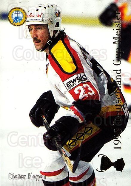 1995-96 German DEL #433 Daniel Kunce, Dieter Hegen<br/>11 In Stock - $2.00 each - <a href=https://centericecollectibles.foxycart.com/cart?name=1995-96%20German%20DEL%20%23433%20Daniel%20Kunce,%20D...&quantity_max=11&price=$2.00&code=154469 class=foxycart> Buy it now! </a>