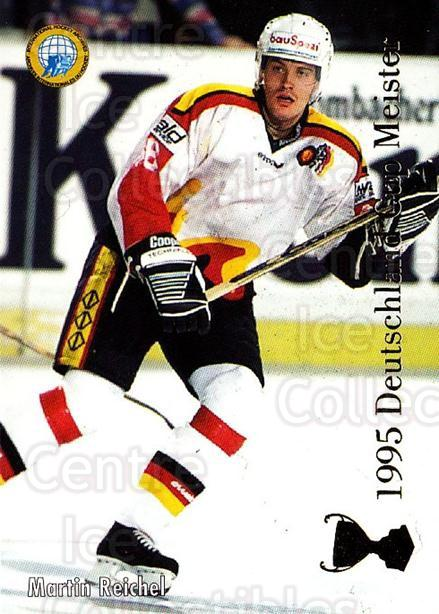 1995-96 German DEL #439 Martin Reichel, German National Team<br/>10 In Stock - $2.00 each - <a href=https://centericecollectibles.foxycart.com/cart?name=1995-96%20German%20DEL%20%23439%20Martin%20Reichel,...&quantity_max=10&price=$2.00&code=154474 class=foxycart> Buy it now! </a>