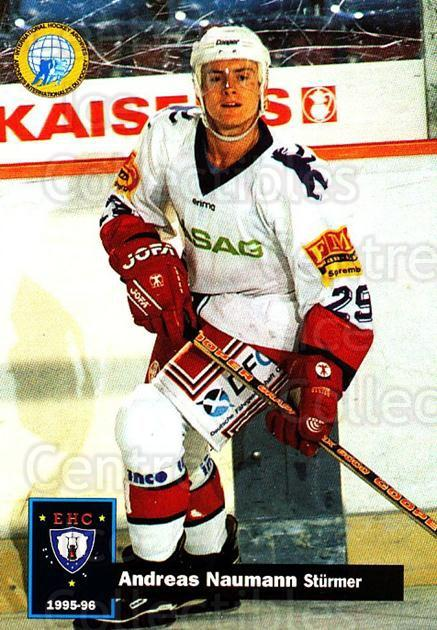 1995-96 German DEL #44 Andreas Naumann<br/>12 In Stock - $2.00 each - <a href=https://centericecollectibles.foxycart.com/cart?name=1995-96%20German%20DEL%20%2344%20Andreas%20Naumann...&quantity_max=12&price=$2.00&code=154475 class=foxycart> Buy it now! </a>