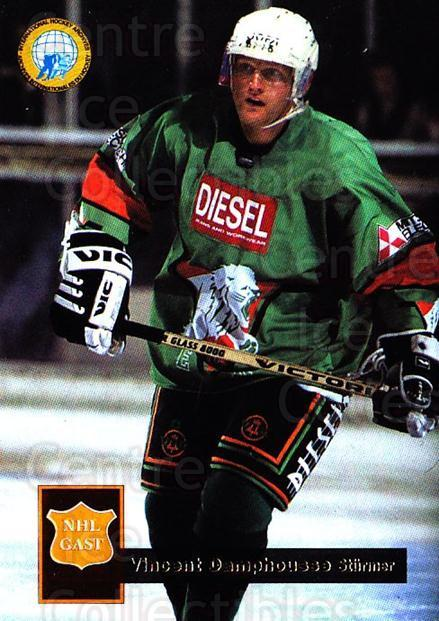 1995-96 German DEL #443 Vincent Damphousse<br/>14 In Stock - $3.00 each - <a href=https://centericecollectibles.foxycart.com/cart?name=1995-96%20German%20DEL%20%23443%20Vincent%20Damphou...&price=$3.00&code=154478 class=foxycart> Buy it now! </a>