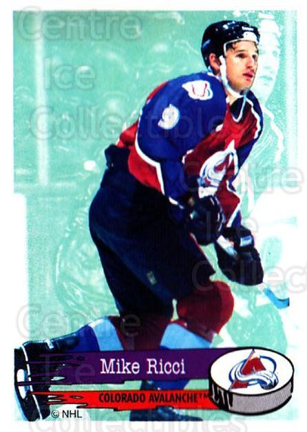 1995-96 Panini Stickers #245 Mike Ricci<br/>6 In Stock - $1.00 each - <a href=https://centericecollectibles.foxycart.com/cart?name=1995-96%20Panini%20Stickers%20%23245%20Mike%20Ricci...&quantity_max=6&price=$1.00&code=154588 class=foxycart> Buy it now! </a>
