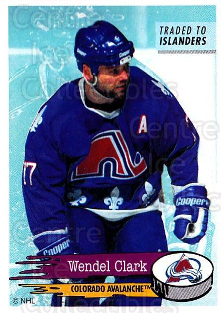1995-96 Panini Stickers #247 Wendel Clark<br/>2 In Stock - $1.00 each - <a href=https://centericecollectibles.foxycart.com/cart?name=1995-96%20Panini%20Stickers%20%23247%20Wendel%20Clark...&quantity_max=2&price=$1.00&code=154589 class=foxycart> Buy it now! </a>