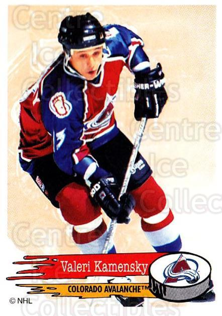 1995-96 Panini Stickers #248 Valeri Kamensky<br/>6 In Stock - $1.00 each - <a href=https://centericecollectibles.foxycart.com/cart?name=1995-96%20Panini%20Stickers%20%23248%20Valeri%20Kamensky...&quantity_max=6&price=$1.00&code=154590 class=foxycart> Buy it now! </a>