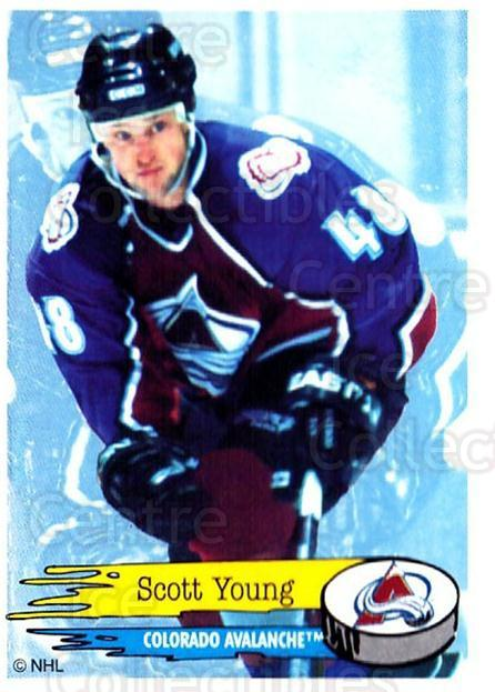 1995-96 Panini Stickers #250 Scott Young<br/>6 In Stock - $1.00 each - <a href=https://centericecollectibles.foxycart.com/cart?name=1995-96%20Panini%20Stickers%20%23250%20Scott%20Young...&quantity_max=6&price=$1.00&code=154593 class=foxycart> Buy it now! </a>