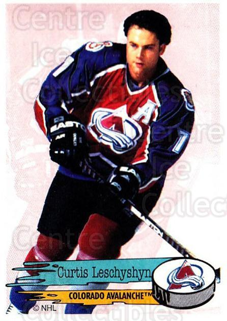 1995-96 Panini Stickers #253 Curtis Leschyshyn<br/>5 In Stock - $1.00 each - <a href=https://centericecollectibles.foxycart.com/cart?name=1995-96%20Panini%20Stickers%20%23253%20Curtis%20Leschysh...&quantity_max=5&price=$1.00&code=154596 class=foxycart> Buy it now! </a>