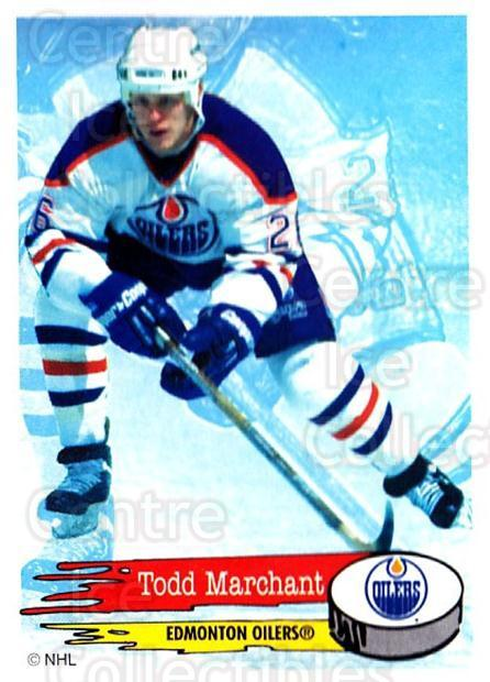 1995-96 Panini Stickers #257 Todd Marchant<br/>6 In Stock - $1.00 each - <a href=https://centericecollectibles.foxycart.com/cart?name=1995-96%20Panini%20Stickers%20%23257%20Todd%20Marchant...&quantity_max=6&price=$1.00&code=154600 class=foxycart> Buy it now! </a>