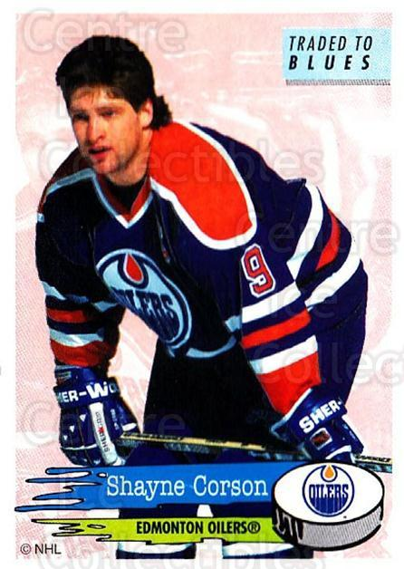 1995-96 Panini Stickers #260 Shayne Corson<br/>6 In Stock - $1.00 each - <a href=https://centericecollectibles.foxycart.com/cart?name=1995-96%20Panini%20Stickers%20%23260%20Shayne%20Corson...&quantity_max=6&price=$1.00&code=154604 class=foxycart> Buy it now! </a>
