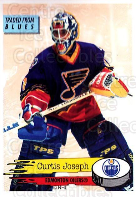 1995-96 Panini Stickers #265 Curtis Joseph<br/>6 In Stock - $1.00 each - <a href=https://centericecollectibles.foxycart.com/cart?name=1995-96%20Panini%20Stickers%20%23265%20Curtis%20Joseph...&quantity_max=6&price=$1.00&code=154609 class=foxycart> Buy it now! </a>
