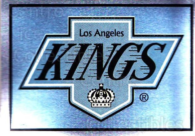 1995-96 Panini Stickers #273 Los Angeles Kings<br/>6 In Stock - $1.00 each - <a href=https://centericecollectibles.foxycart.com/cart?name=1995-96%20Panini%20Stickers%20%23273%20Los%20Angeles%20Kin...&quantity_max=6&price=$1.00&code=154617 class=foxycart> Buy it now! </a>