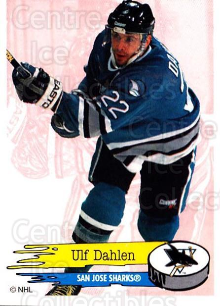 1995-96 Panini Stickers #281 Ulf Dahlen<br/>6 In Stock - $1.00 each - <a href=https://centericecollectibles.foxycart.com/cart?name=1995-96%20Panini%20Stickers%20%23281%20Ulf%20Dahlen...&quantity_max=6&price=$1.00&code=154626 class=foxycart> Buy it now! </a>