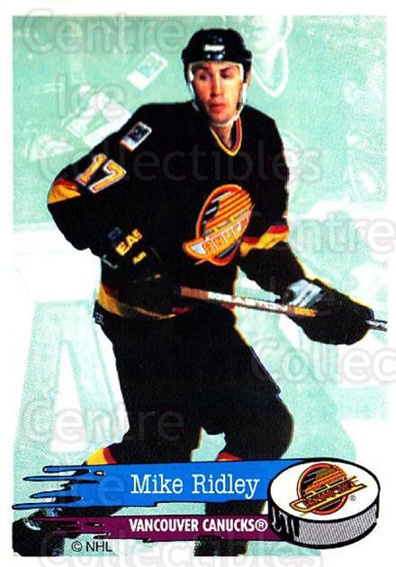 1995-96 Panini Stickers #289 Mike Ridley<br/>3 In Stock - $1.00 each - <a href=https://centericecollectibles.foxycart.com/cart?name=1995-96%20Panini%20Stickers%20%23289%20Mike%20Ridley...&quantity_max=3&price=$1.00&code=154634 class=foxycart> Buy it now! </a>